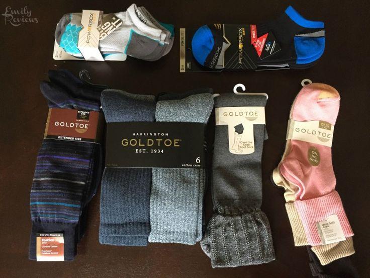 Gold toe socks for men and women