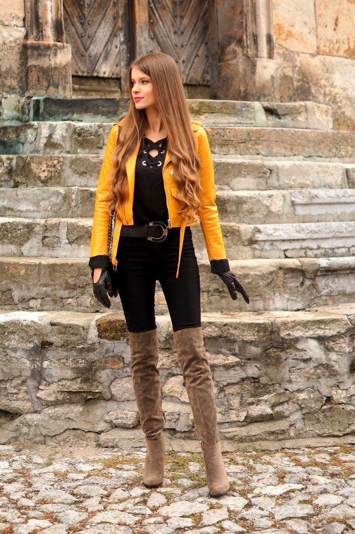 Fashion Streetfashion Streetstyle Como Vestir Con Botas
