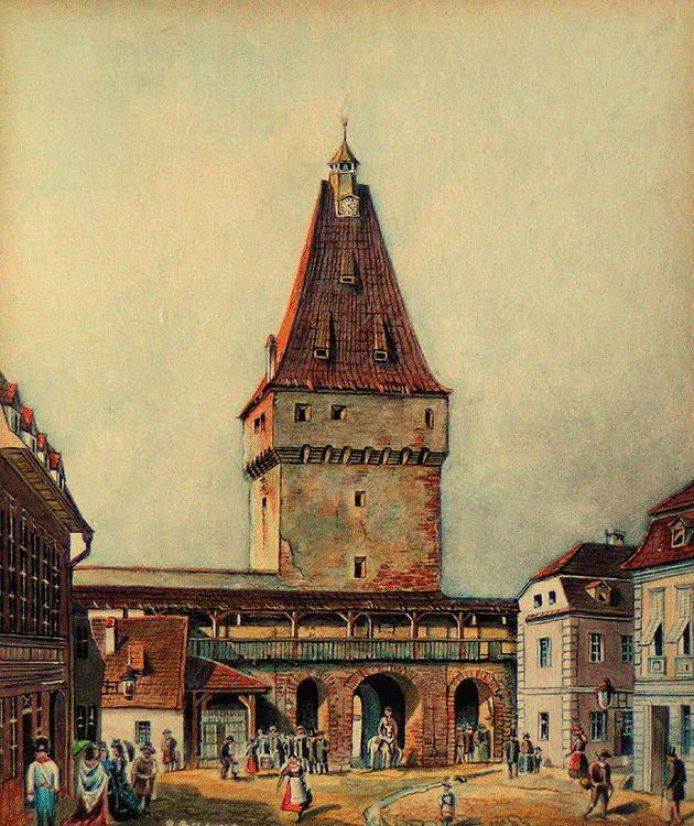 Johann Bobel - Turnul Portii Cisnadiei