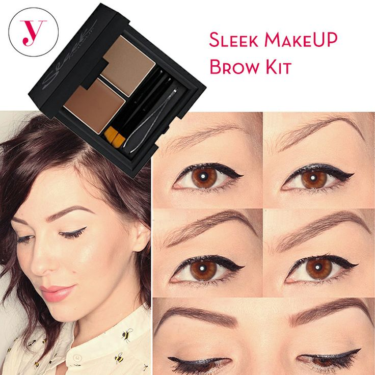 Le sopracciglia sono importanti per la bellezza del viso. Con il Brow Kit di #SleekMakeUp puoi renderle perfette!  http://www.vanitylovers.com/prodotti-make-up-occhi/sopracciglia.html?vanity_marche=14&utm_source=pinterest.com&utm_medium=post&utm_content=vanity-brow-kit&utm_campaign=pin-vanity