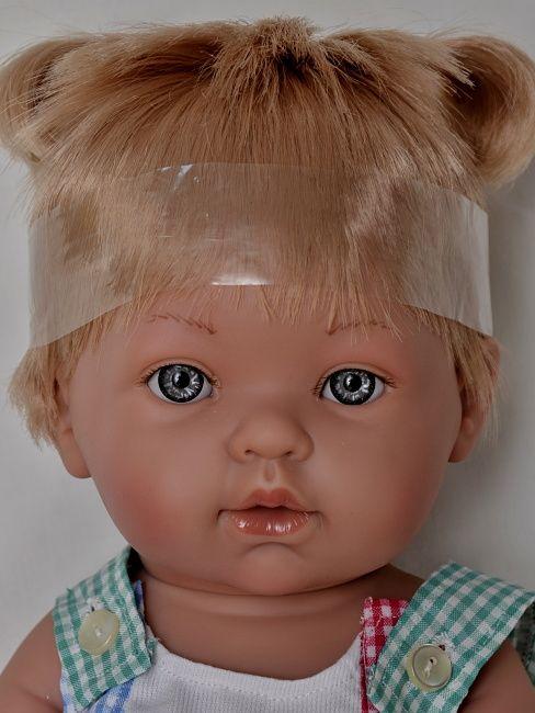 Realistické miminko holčička Lucinka od firmy Vestida de Azul