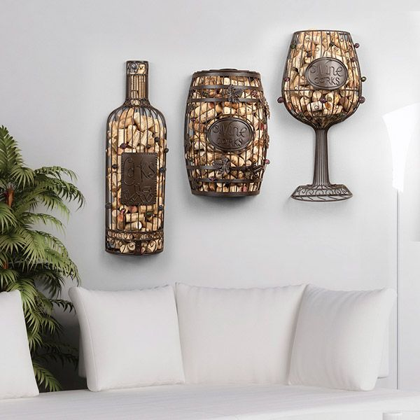 Cork Cage Wine Bottle Wall Hanging Wine Gift