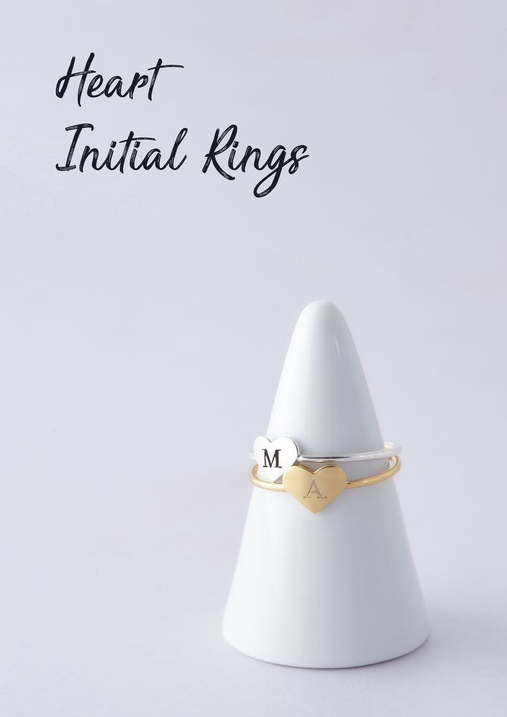 Heart Ring with Initials • Double Initials Ring with Heart • Heart Letter Ring • Initial Ring • Heart rings with initials • personalized rings • Actual engraved ring with initials • initial jewelry • Minimalist ring • Best friend ring • simple jewelry • unique jewelry • gifts for children • good christmas gifts • birthday presents for her • christmas gifts for kids • best friend birthday gifts