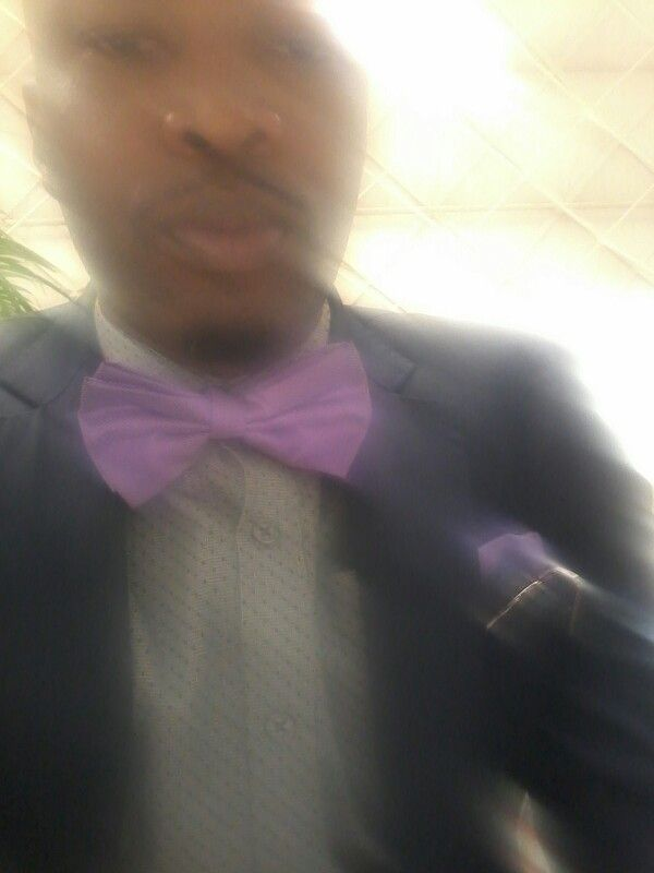 Bow tie and all,  blurred lines