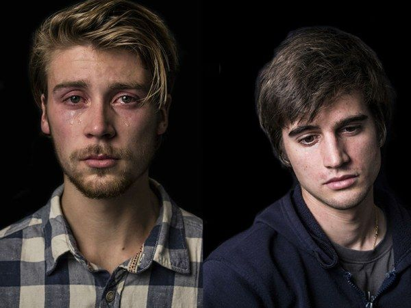 Мужчины тоже плачут! И это не слабость, а проявление эмоций (11 фото)