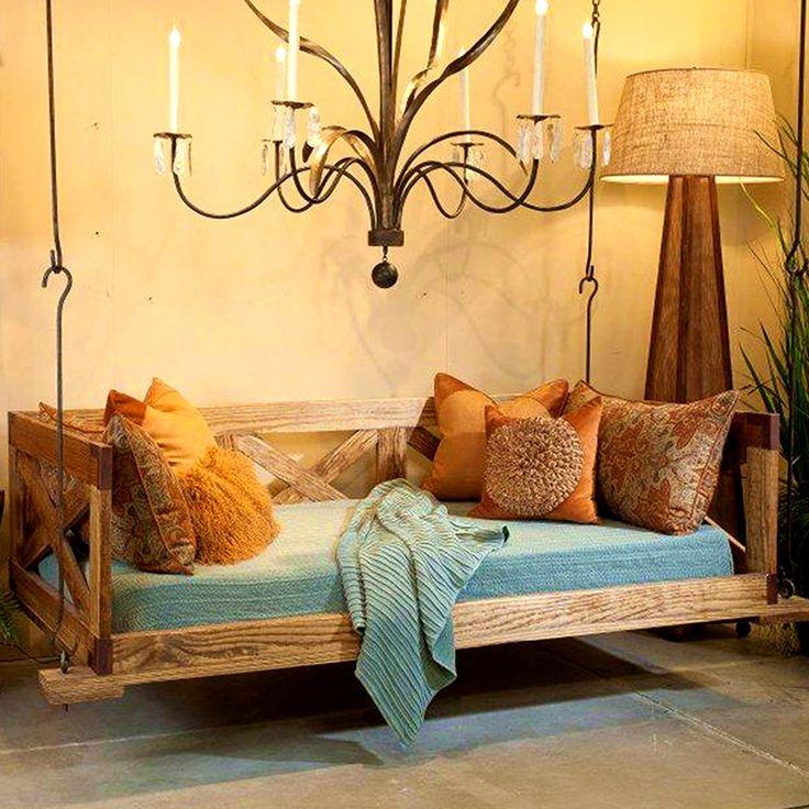 best 25 outdoor swing beds ideas on pinterest porch. Black Bedroom Furniture Sets. Home Design Ideas