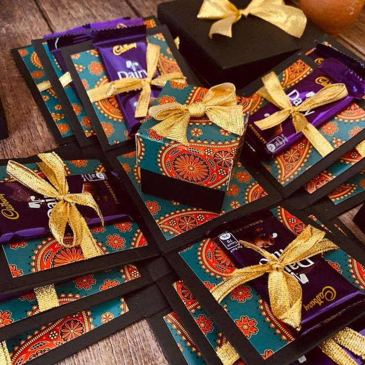 Chocolate explosion gift box in 2020 rakhi gifts crafts