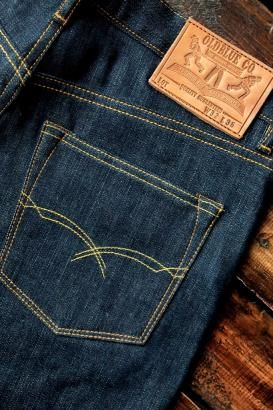 Old blue co arcuate on 12.5oz broken twill selvedge denim http://oldblueco.net/index.php?act=content=2