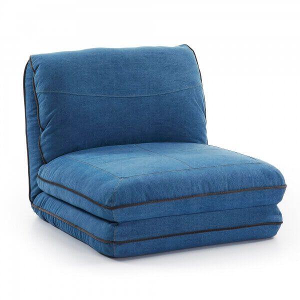 Slaapfauteuil Azul stof