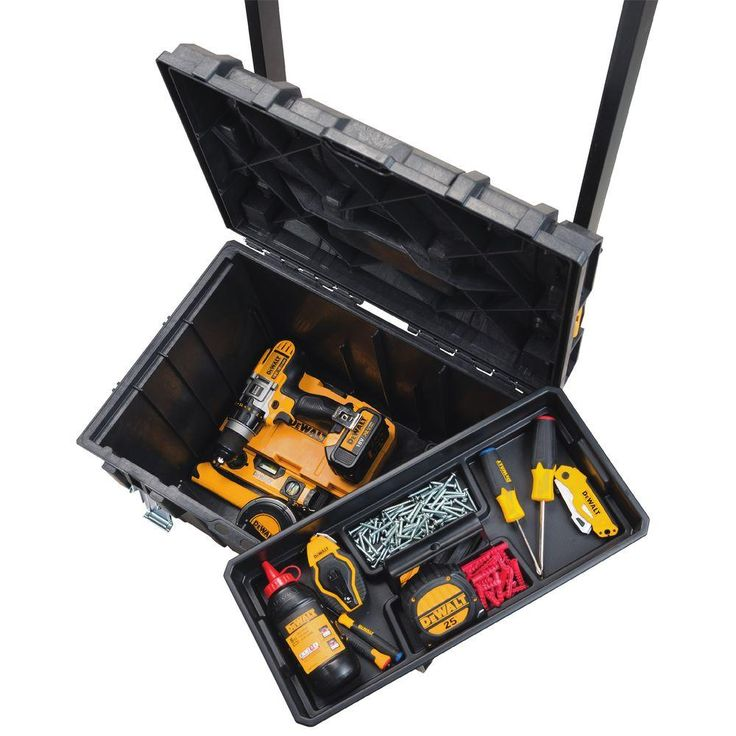 DEWALT ToughSystem DS450 22 In. 17 Gal. Mobile Tool Box