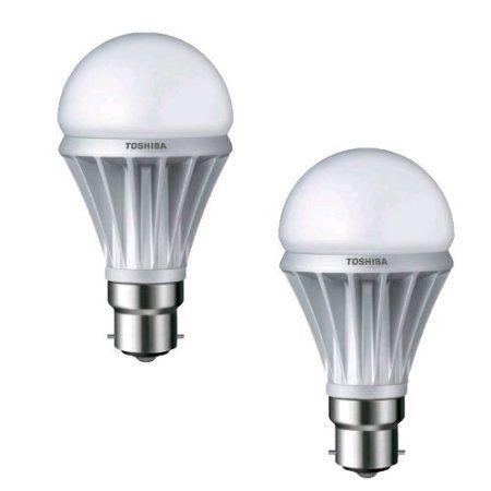 Fabulous  Pack of w Toshiba LED Energy Saving Light Bulbs BC B Bayonet