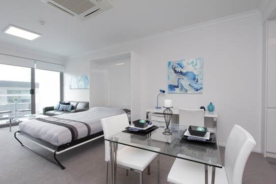 Studio Apartments Perth Western Australia Fifo Accommodation Holiday Or Studio Stay Information At Unicapropert With Images Studio Rental Studio Apartment Home Decor