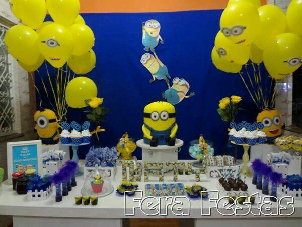 Festa Minions - @FeraFestas