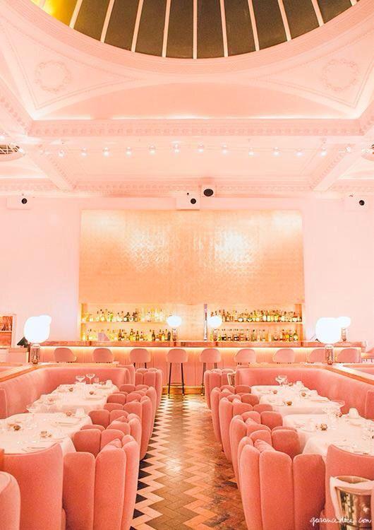 Sketch - All-pink tea room in London