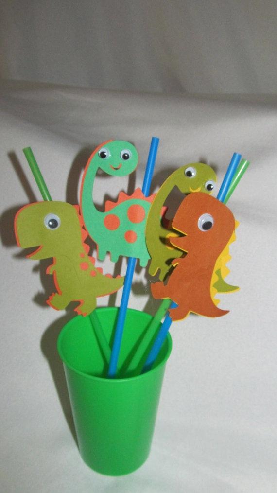 Dino Straws!