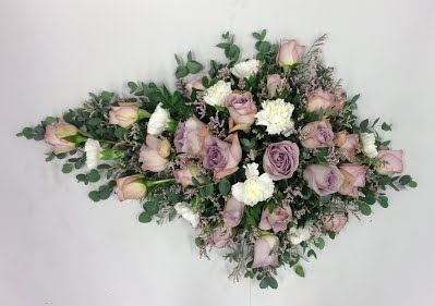 Båredekorasjon - Blomster Trine