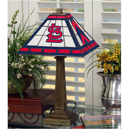 Amazon.com: MLB Mission Table Lamp MLB Team: St. Louis Cardinals: