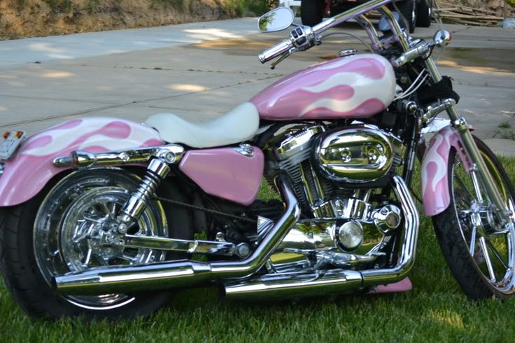 pink harley davidson | seriously do i really look like i care what you