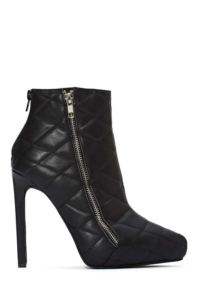 Jeffrey Campbell Gridley Quilted Leather Boot   Shop Shoes at Nasty Gal