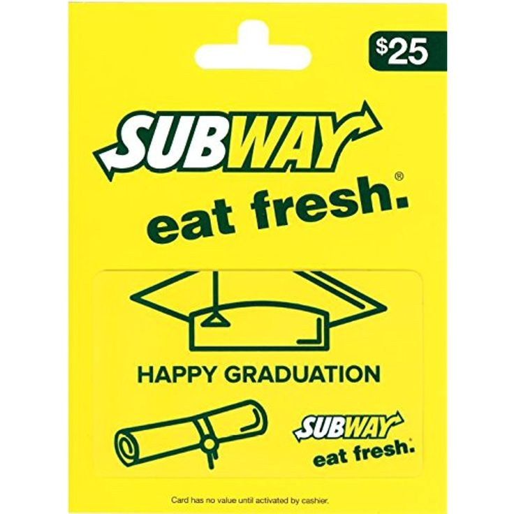 Subway gift card be sure to check out this awesome