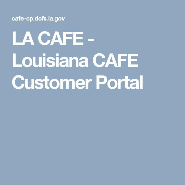 la cafe louisiana customer portal