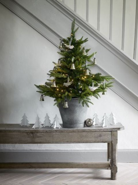 25+ unique Small christmas trees ideas on Pinterest Country - small decorative christmas trees