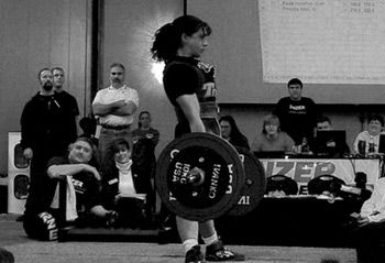 USA Powerlifting - The Choice for Drug-free Strength Sport : Priscilla Ribic