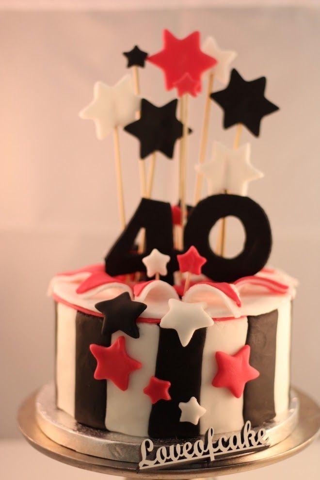 Love of Cake - Inspirieren   Probieren    Teilen : …. noch ein Törtchen zum 40. Geburtstag