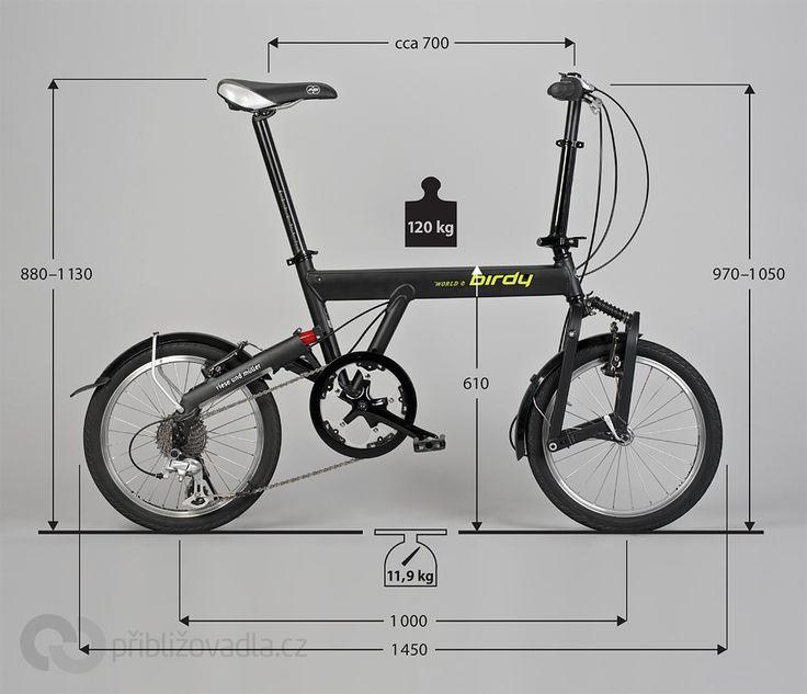 Folding Bike Birdy World Sport Skladaci Kolo Birdy World Sport