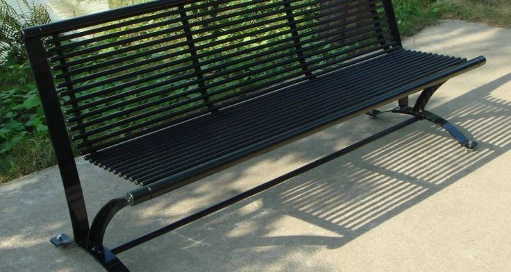 20 Adorable Curved Metal Outdoor Benches Inspirational