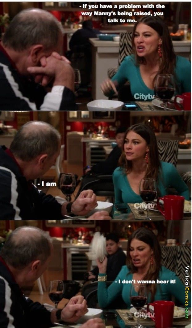 Raising Manny ~ Modern Family Quotes ~ #modernfamily #modernfamilyquotes