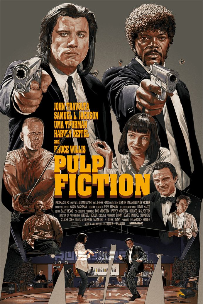 Pin by Sergey Pavlov on Movies in 2019 | Pulp fiction art