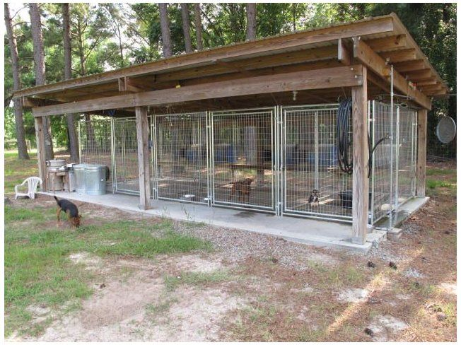 Hunting Dog Kennel Ideas Outdoor, Outdoor Kennel Ideas