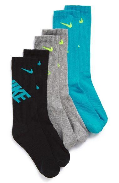 Nike Performance Socks (3-Pack) (Big Kid)