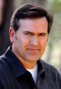 Bruce Campbell - B movie star legend.  Actor, producer, director.