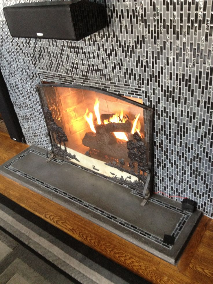 28 best Painted brick fireplace images on Pinterest | Fireplace ...