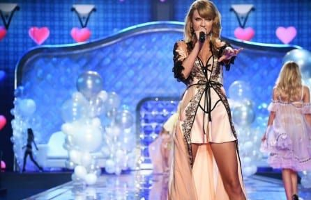 Download Taylor Swift at Victoria's Secret Show 4k wallpaper for free. Come and discover more 4k Ultra hd wallpapers of Celebrities