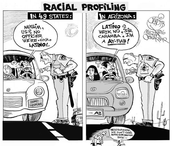 Latins against whites