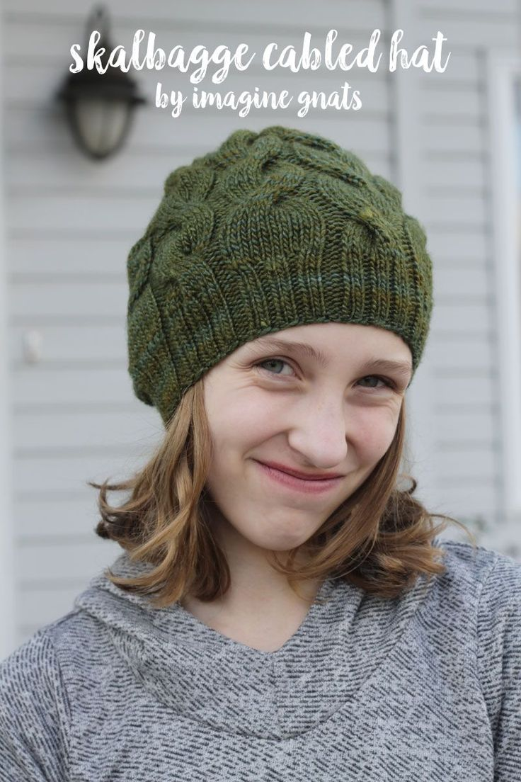 1403 best create with rachael gander of imagine gnats images on knitting skalbagge cabled hat free knitting pattern bankloansurffo Gallery