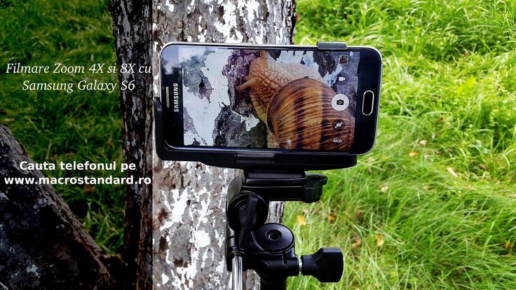 Filmare test Zoom cu Samsung Galaxy S6