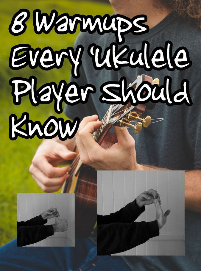 Warming up is an important part of performing with your 'ukulele. It gets the muscles in your fingers going so that you can nail a song. Learn some 'ukulele warmups.