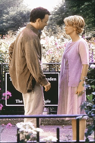 You've Got Mail. Great movie to watch on your day off. : Film, You'Ve Got Mail, Favorite Scene, Favorite Movies, Tom Hanks, Don T Cry, Meg Ryan