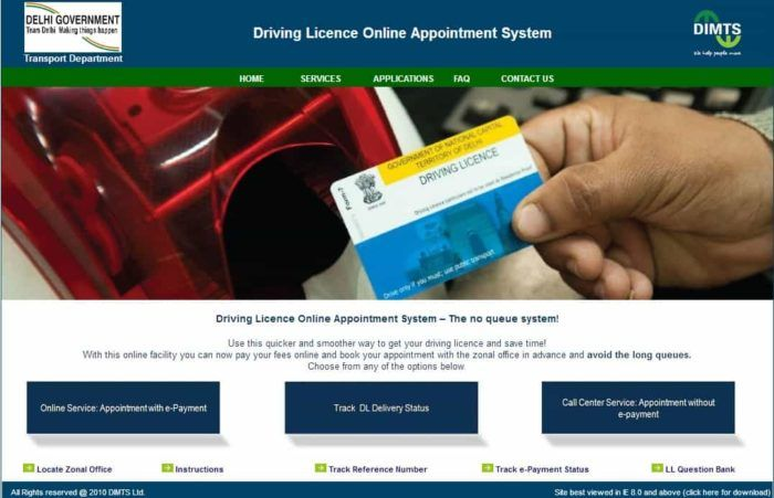 How to Apply For Driving License Online In Delhi