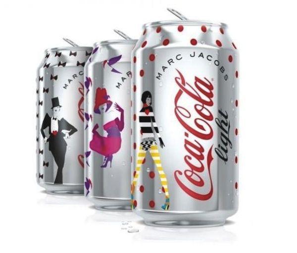Diet Coke Unveils Marc Jacobs-Designed Cans - DesignTAXI.com