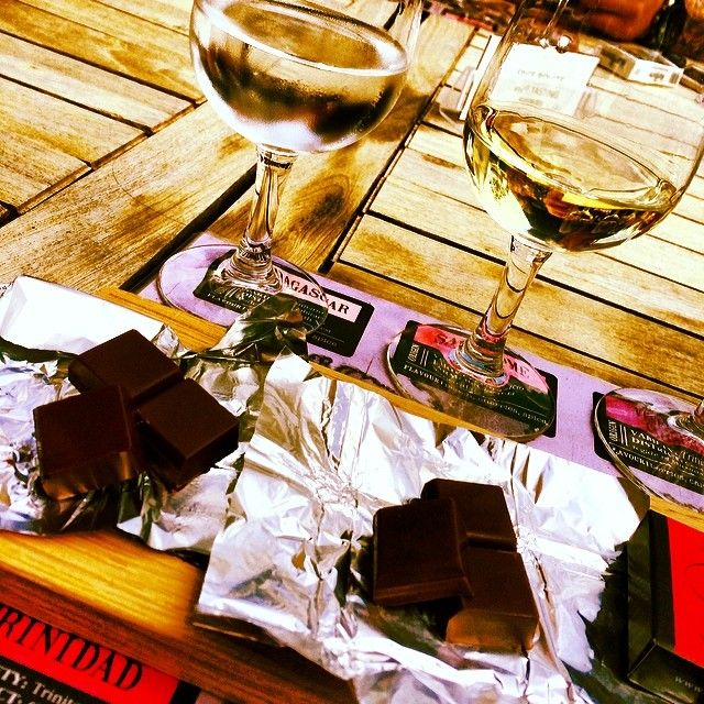 Find your favourite chocolate and wine pairing - Spice Route wines & chocolates
