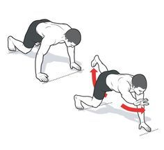 Elevated Bird Dog Reach http://www.menshealth.com/fitness/floor-exercises/elevated-bird-dog-reach