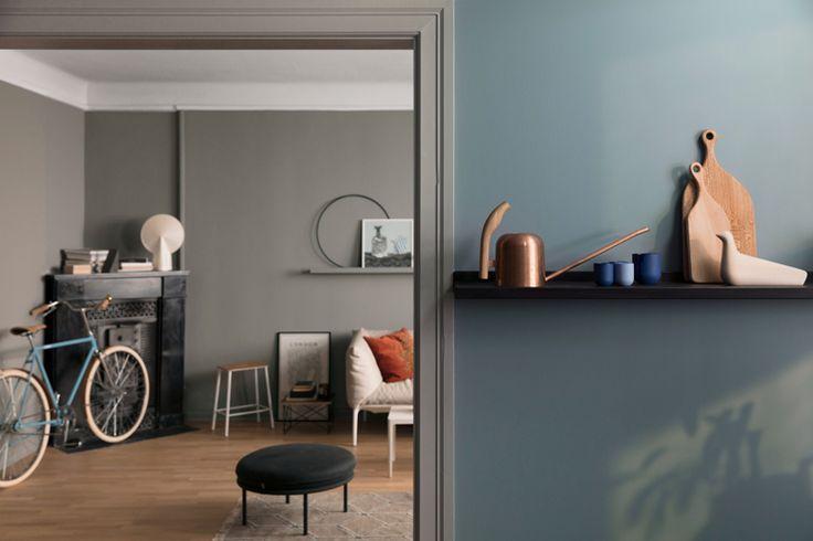 City Motions er en stil i det nye LADY fargekartet fra JOTUN med dype, svale blåtoner, vakre gråfarger og varme, brune nyanser.