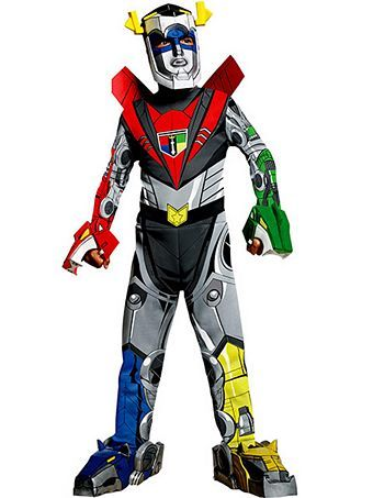 Deluxe Voltron Force Voltron Child Costume | Wholesale TV and Movie Halloween Costumes for Boys