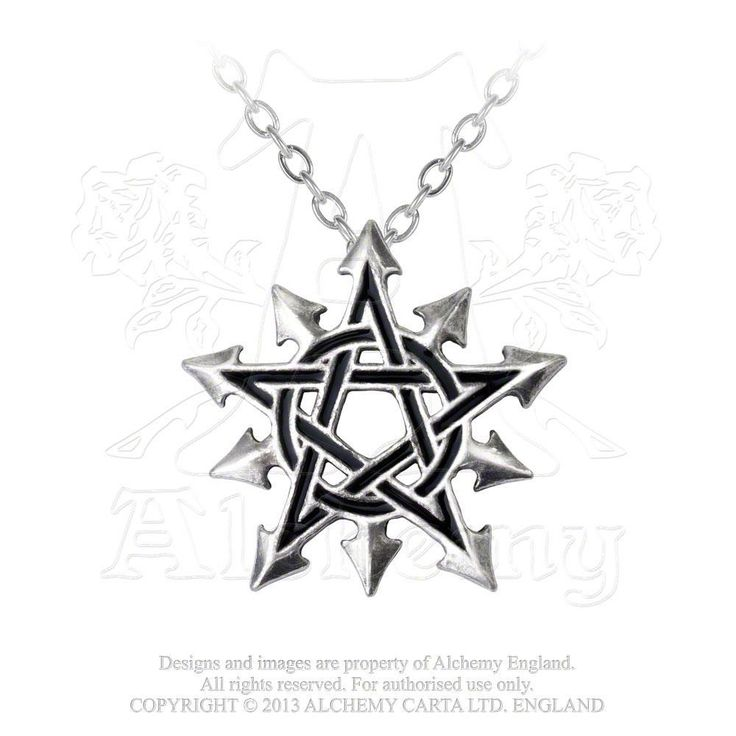 Chaosagram Pendant: The pentagram is The Spirit, the chaos