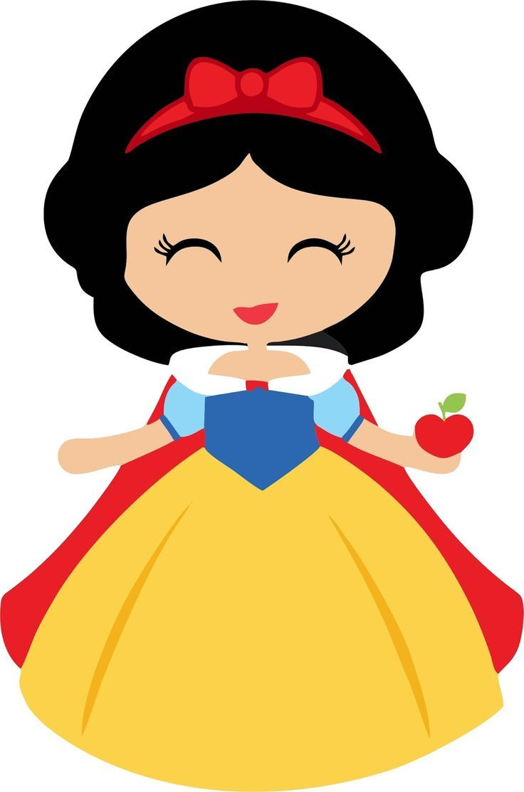 Snow White Vector Free With Images Baby Snow White Snow White